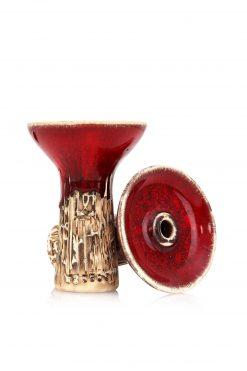Werkbund Phunnel Spot Glazed Red