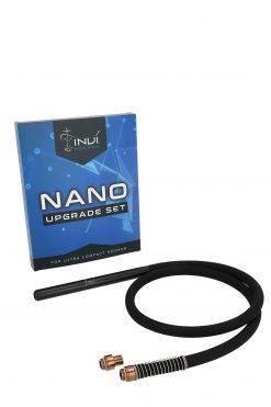 INVI Nano 2-Schlauch Set Rosé Gold Edelstahl Upgrade