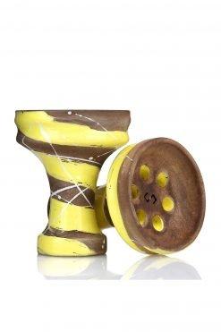 Conceptic Design Killer Yellow Tabakkopf